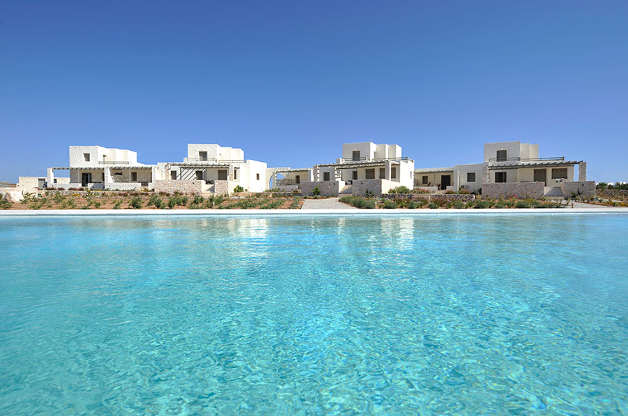 Luxury complex Villas in Paros