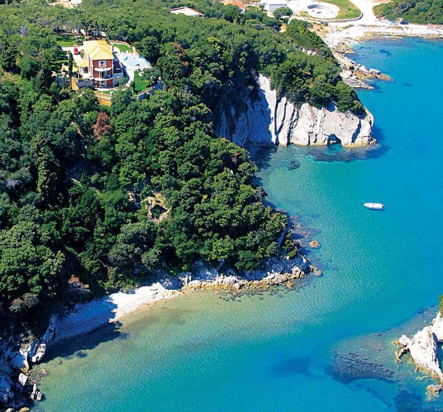 Вилла на острове Керкира