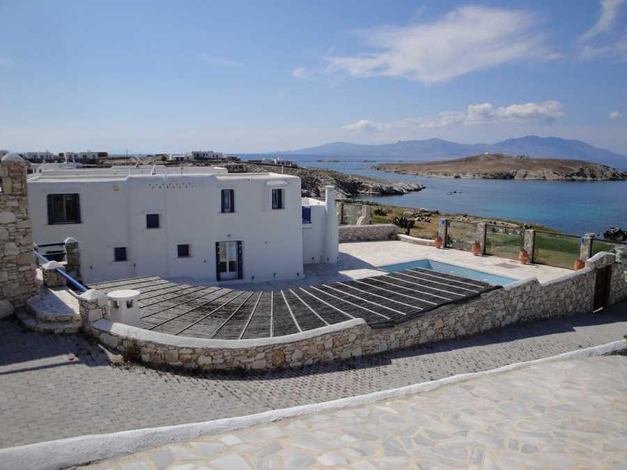 Две Виллы на острове Миконос