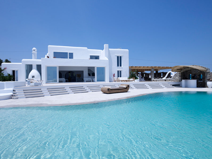New built villa in Mykonos